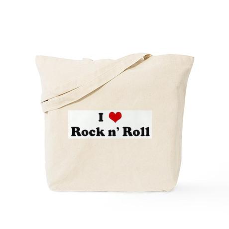 I Love Rock n' Roll Tote Bag