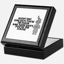 Pigeon Or Statue Keepsake Box