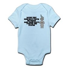 Pigeon Or Statue Infant Bodysuit