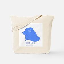 Classic Blue Dog Tote Bag