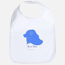 Classic Blue Dog Bib