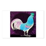 Moon Glow Rooster Postcards (Package of 8)