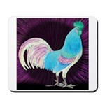 Moon Glow Rooster Mousepad