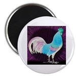 Moon Glow Rooster Magnet
