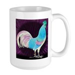 Moon Glow Rooster Large Mug