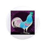 "Moon Glow Rooster 3.5"" Button"