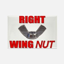 Wing Nut Rectangle Magnet
