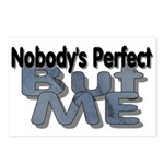 Nobody's Perfect Postcards (Package of 8)