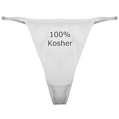 Jewish 100% Kosher Classic Thong