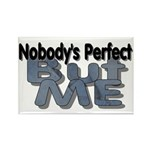 Nobody's Perfect Rectangle Magnet (10 pack)