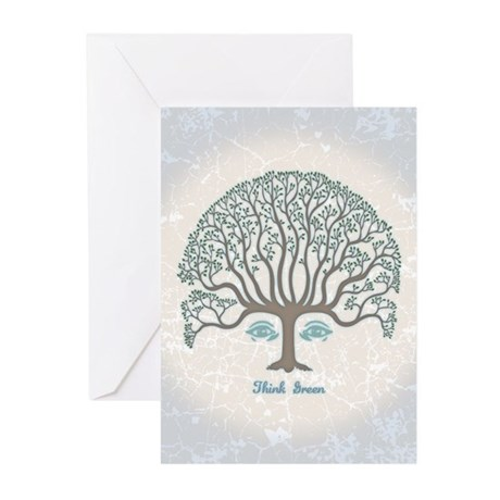 Think Green II Greeting Cards (Pk of 10)