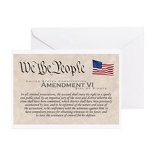 Amendment VI Greeting Cards (Pk of 10)