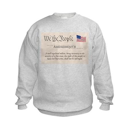 Amendment II Kids Sweatshirt
