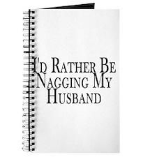 Rather Nag Husband Journal