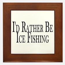 Rather Ice Fish Framed Tile