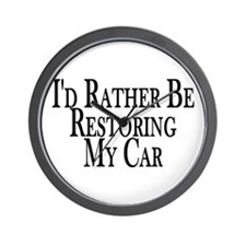 Rather Restore Car Wall Clock