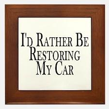 Rather Restore Car Framed Tile