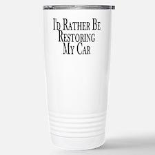 Rather Restore Car Stainless Steel Travel Mug