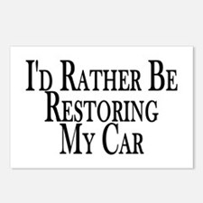 Rather Restore Car Postcards (Package of 8)