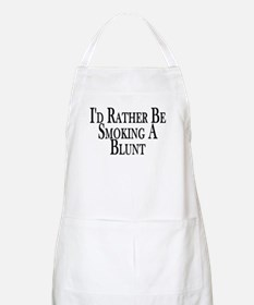 Rather Smoke Blunt BBQ Apron