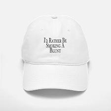Rather Smoke Blunt Baseball Baseball Cap