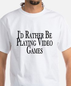 Rather Play Video Games Shirt