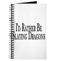 Rather Slay Dragons Journal