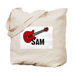 Guitar - Sam Tote Bag