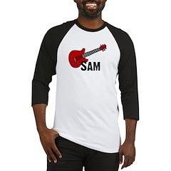 Guitar - Sam Baseball Jersey