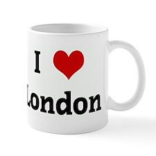 I Love London Small Mug