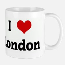 I Love London Small Small Mug