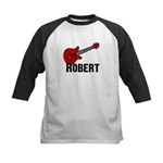 Guitar - Robert Kids Baseball Jersey