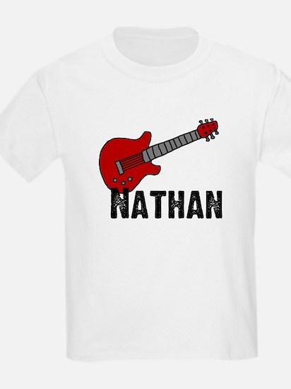 Guitar - Nathan Kids T-Shirt