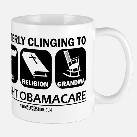 Guns, Religion & Grandma Mug