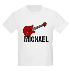 Guitar - Michael Kids T-Shirt
