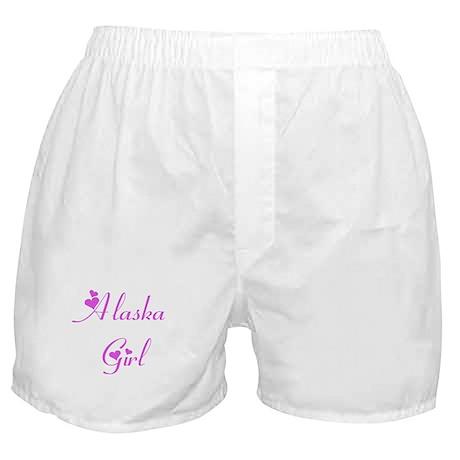 Alaska Girl Boxer Shorts