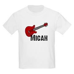 Guitar - Micah Kids T-Shirt