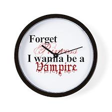 Forget princess VAMPIRE Wall Clock