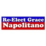 Re-Elect Grace Napolitano Bumper Sticker