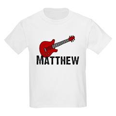 Guitar - Matthew Kids T-Shirt