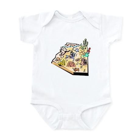 Arizona Map Infant Bodysuit