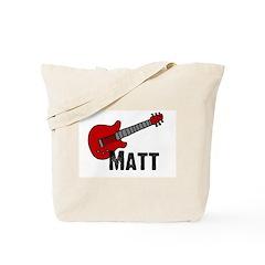 Guitar - Matt Tote Bag