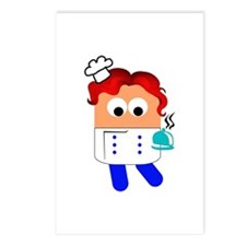 Funny Cookbook Postcards (Package of 8)