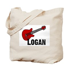Guitar - Logan Tote Bag