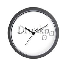 Drunko Wall Clock