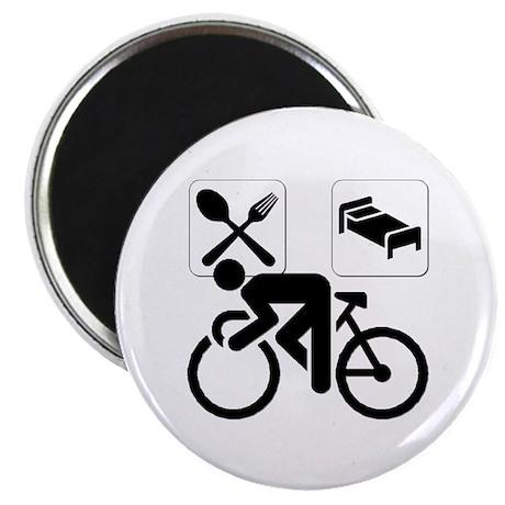 """Eat Sleep CYCLE! 2.25"""" Magnet (10 pack)"""