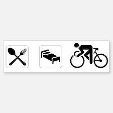 Eat Sleep CYCLE! Bumper Bumper Bumper Sticker