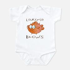 Leukemia Blows Infant Bodysuit