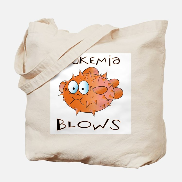 Leukemia Blows Tote Bag