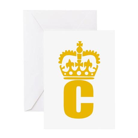 C - character - name Greeting Card